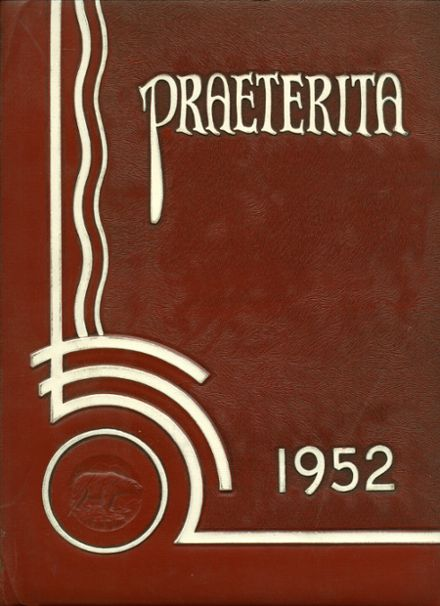 1952 Arvin High School Yearbook Cover