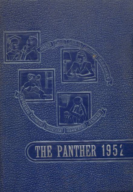 1952 Oilton High School Yearbook Page 1