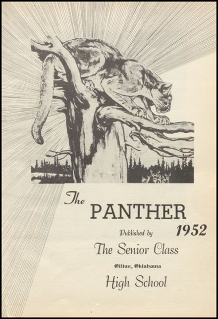 1952 Oilton High School Yearbook Page 7