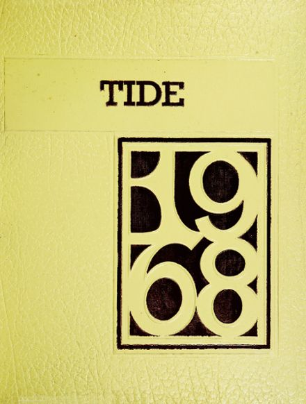 1968 Concord High School Yearbook Cover
