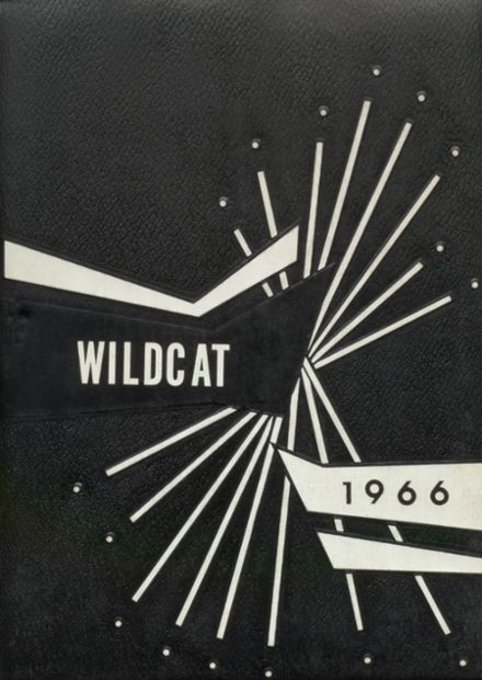 1966 Welch High School Yearbook Cover