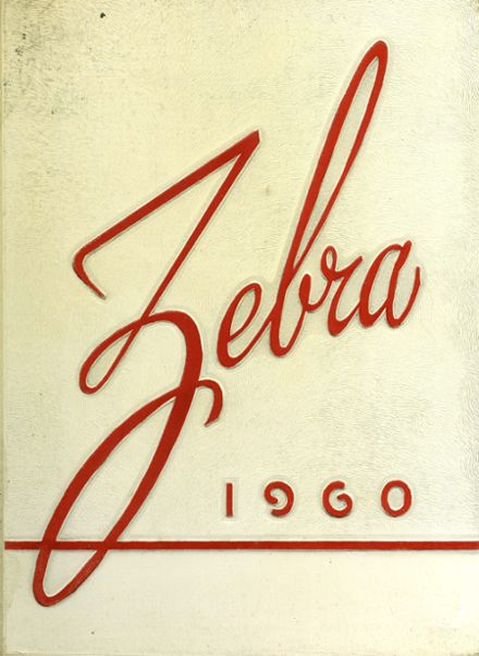 1960 Pine Bluff High School Yearbook Cover