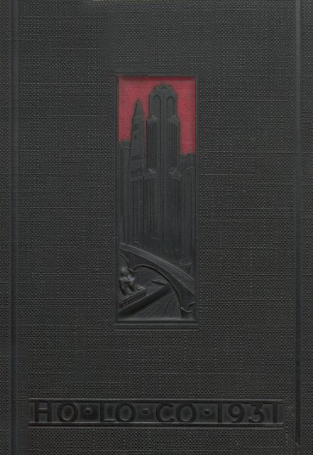 1931 Estherville High School Yearbook Cover
