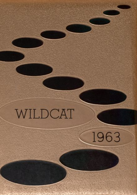 1963 Moran High School Yearbook Cover