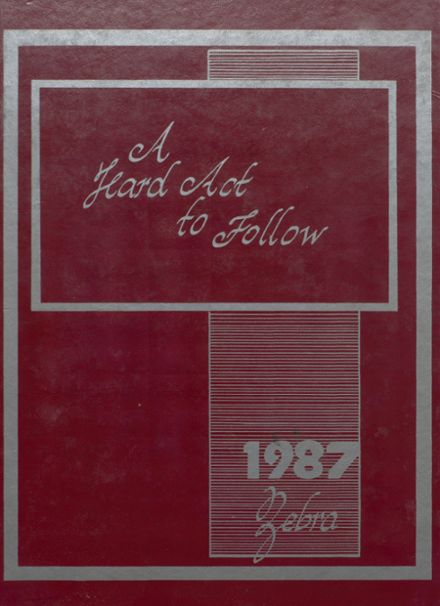 1987 Pine Bluff High School Yearbook Cover