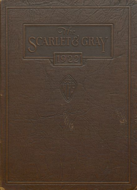 1922 West Lafayette High School Yearbook Cover