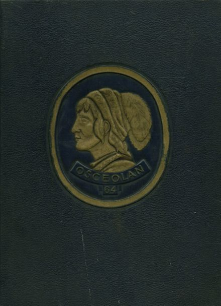 1964 Osceola High School Yearbook Cover