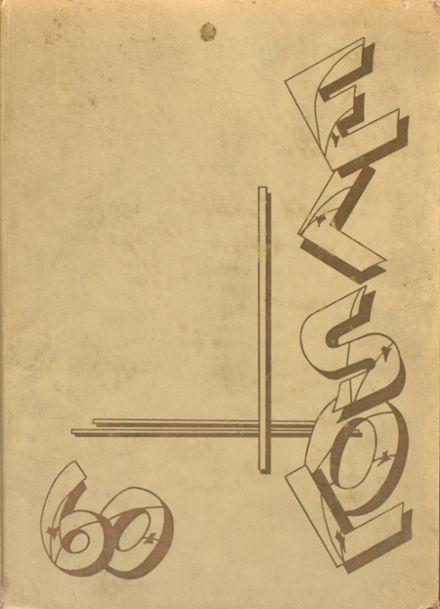 1960 Rancho High School Yearbook Cover