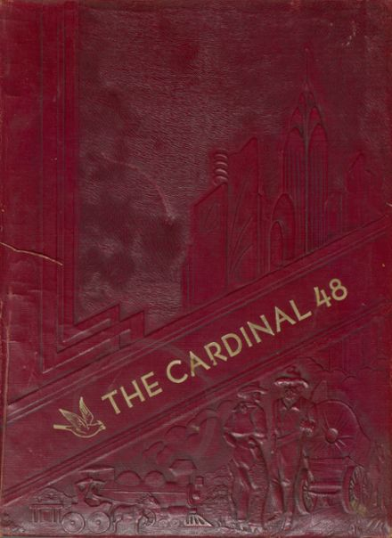 1948 Maud High School Yearbook Cover