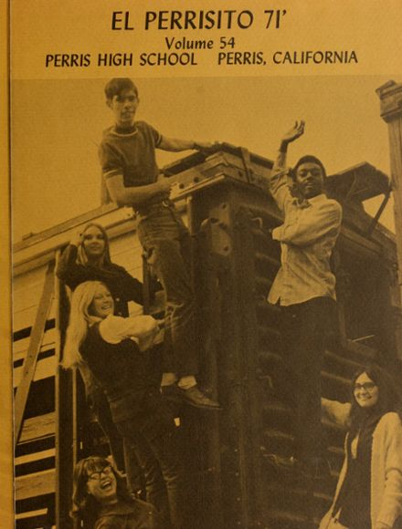 1971 Perris High School Yearbook Page 5