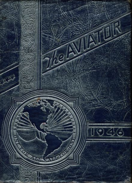 1946 French High School Yearbook Cover