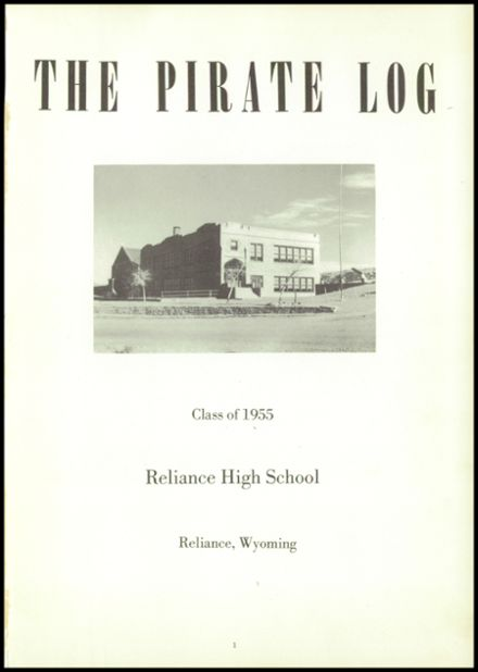 1955 Reliance High School Yearbook Page 5