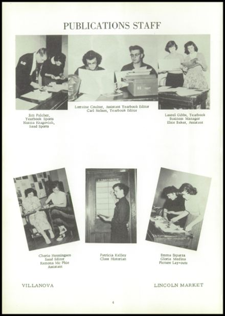 1955 Reliance High School Yearbook Page 8