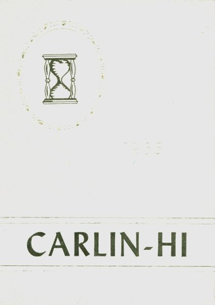 1965 Carlinville High School Yearbook Cover