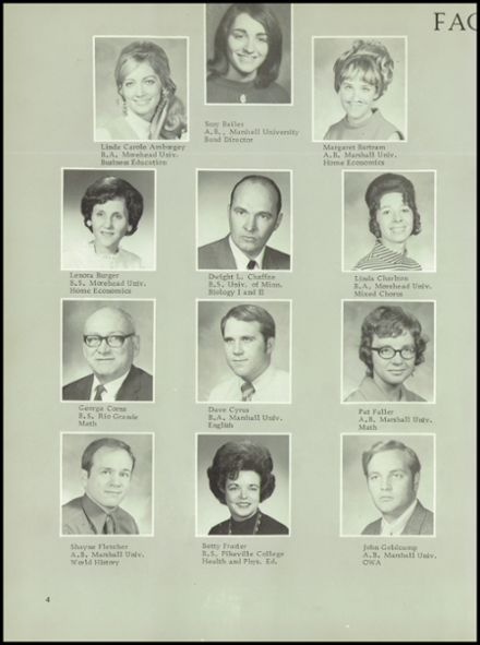 1972 Dawson - Bryant High School Yearbook Page 8