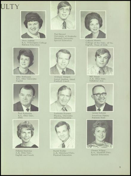 1972 Dawson - Bryant High School Yearbook Page 9