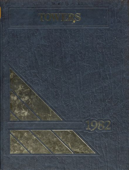 1982 Central Catholic High School Yearbook Cover