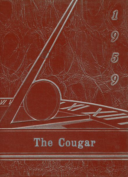 1959 Courtenay High School Yearbook Cover