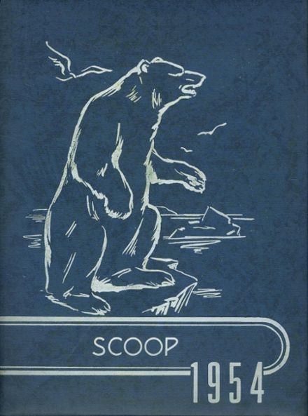 1954 Jackson High School Yearbook Cover