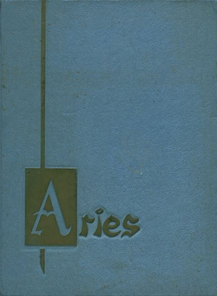 1963 Robert A. Millikan High School Yearbook Cover