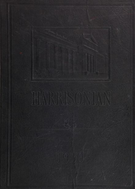 1930 Harrison Technical High School Yearbook Cover