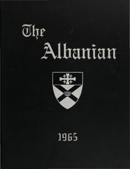 1965 St. Albans High School Yearbook Cover