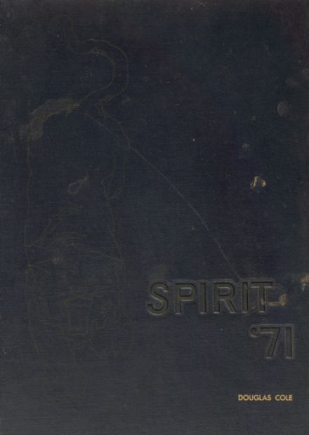 1971 Seymour High School Yearbook Cover
