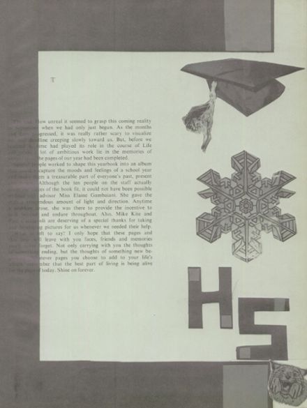 1974 Clinton High School Yearbook Page 7