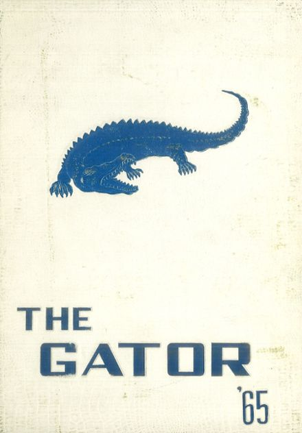 1965 Dickinson High School Yearbook Cover