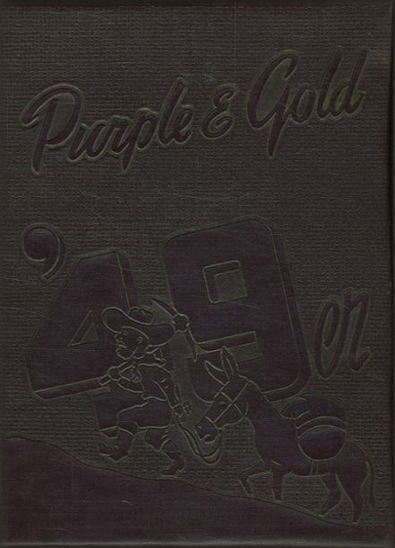 1949 South Haven Christian School Yearbook Cover