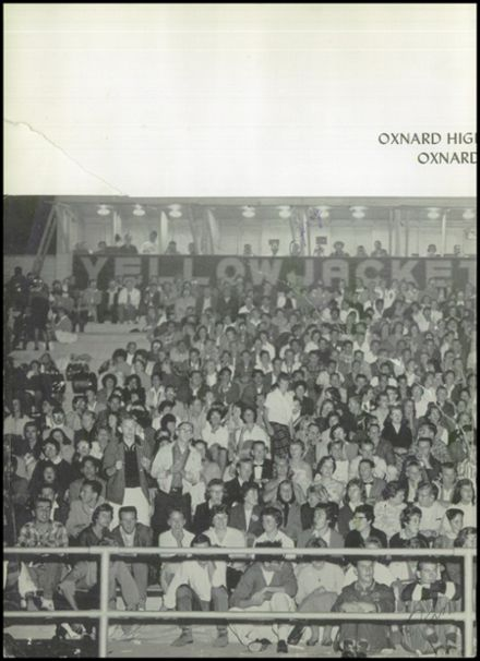 1960 Oxnard High School Yearbook Page 6