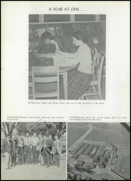 1960 Oxnard High School Yearbook Page 8