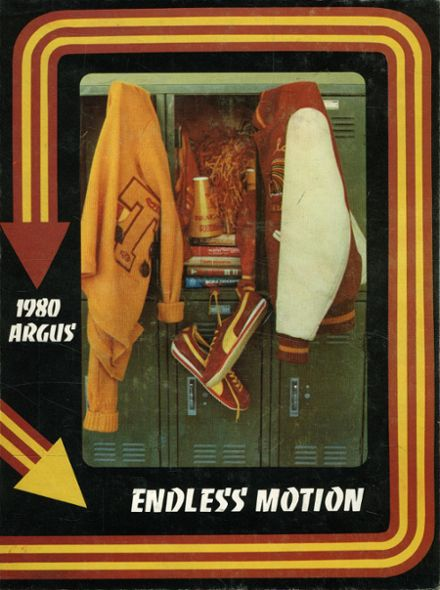 1980 Tulare Union High School Yearbook Cover