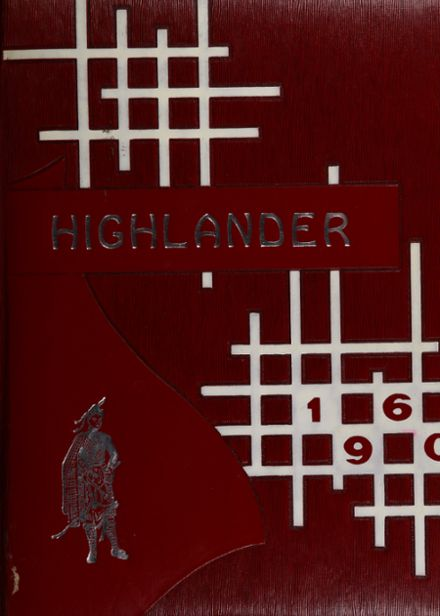 1960 McLain High School Yearbook Cover