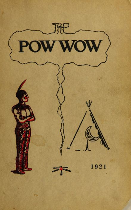 1921 Caldwell High School Yearbook Cover