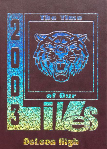 2003 DeLeon High School Yearbook Cover