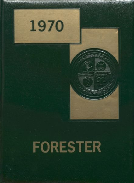 1970 Forest Hills High School Yearbook Cover