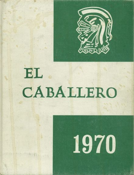 1970 St. Mary's High School Yearbook Cover