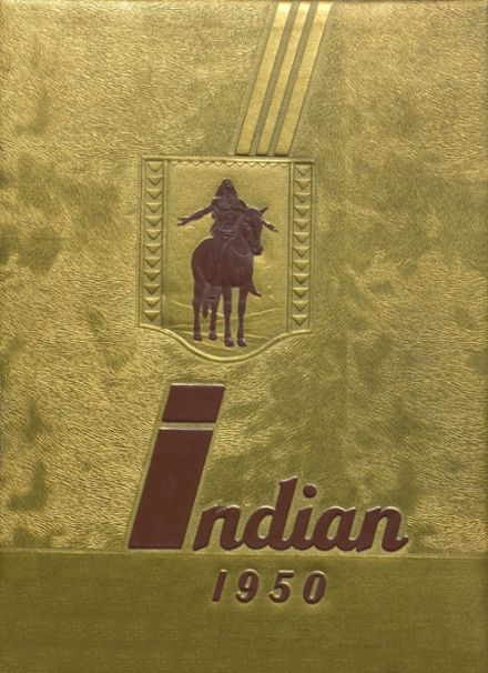 1950 Shawnee Mission North High School Yearbook Cover