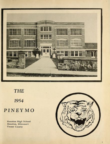 1954 Houston High School Yearbook Page 5