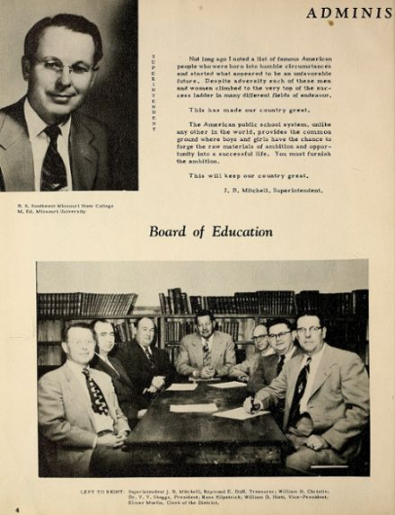 1954 Houston High School Yearbook Page 8