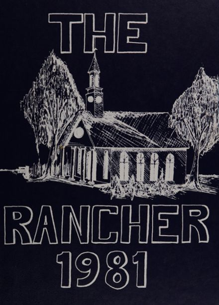 1981 Boys Ranch High School Yearbook Cover