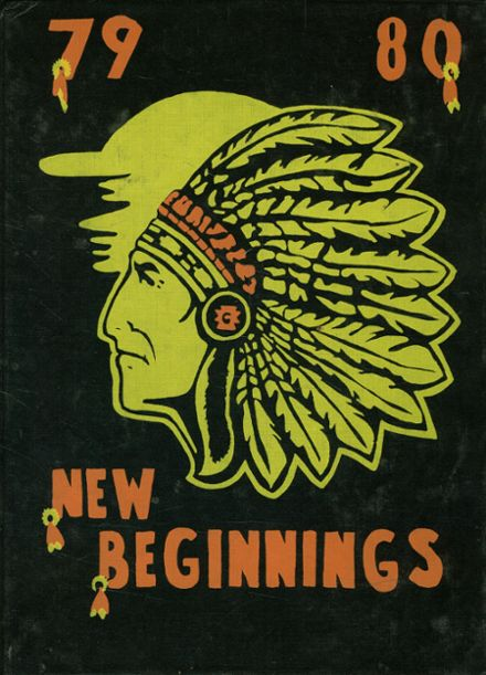 1980 Shiner High School Yearbook Cover