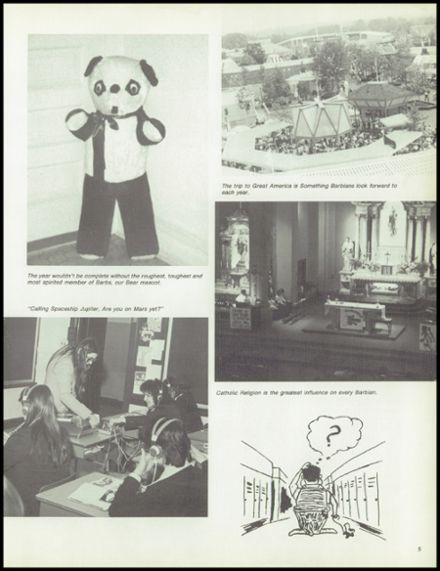 1979 St. Barbara High School Yearbook Page 9
