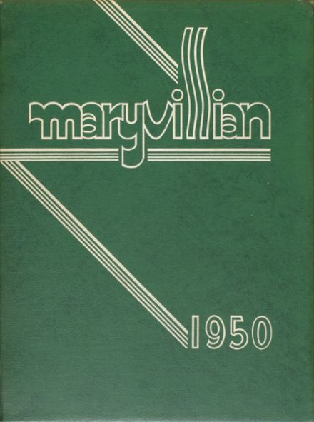 1950 Maryville High School Yearbook Cover