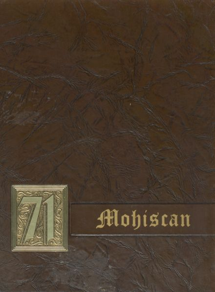 1971 Morristown High School Yearbook Cover