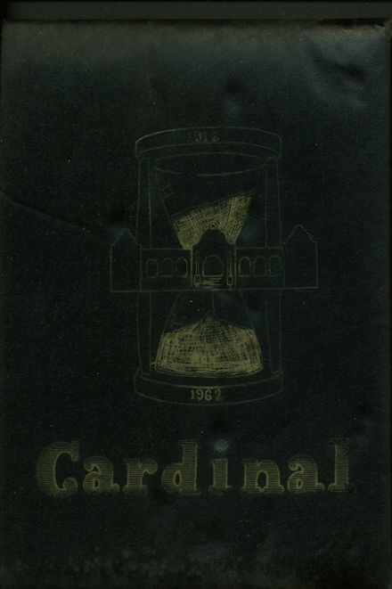 1962 Glendale High School Yearbook Cover