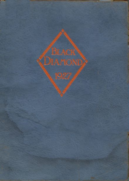 1927 Carterville Community High School Yearbook Cover