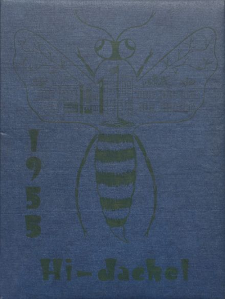 1955 Osbourn High School Yearbook Cover