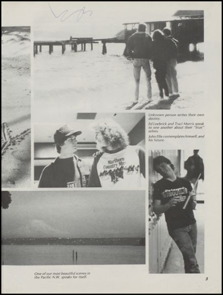 1986 Gig Harbor High School Yearbook Page 7